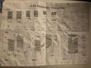 parrot cage assembly instructions