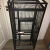 parrot bird cage set-up
