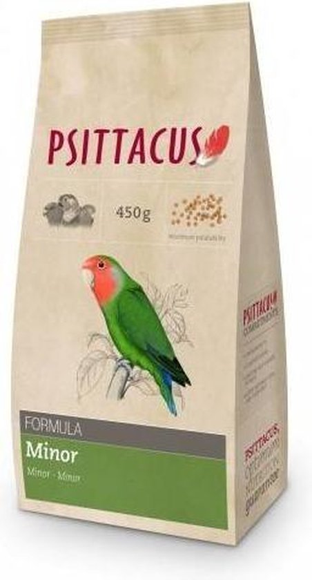 Psittacus pellets | Parrot food